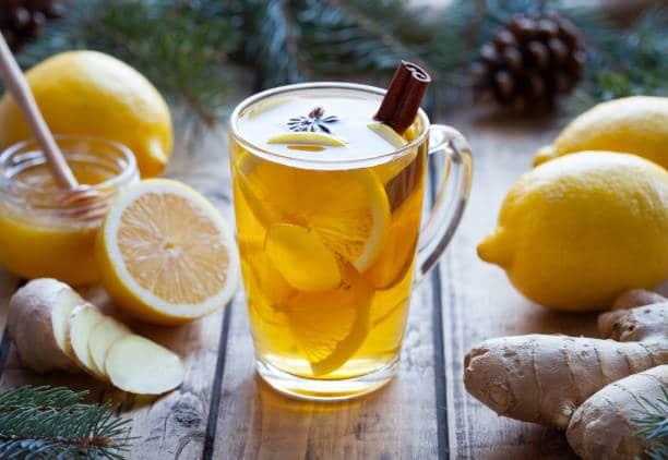 jengibre con limón